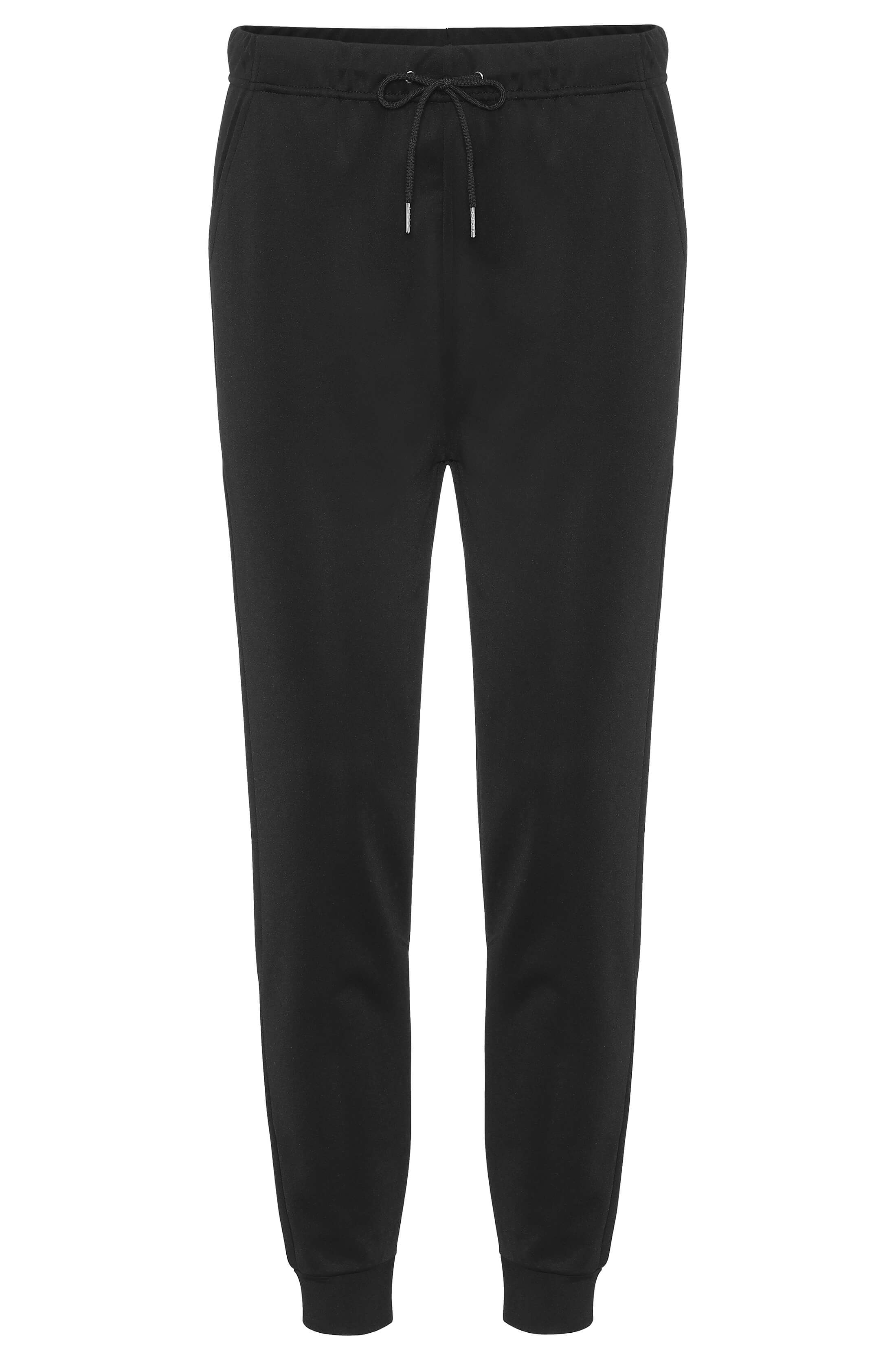 Comfortable black lounge pants