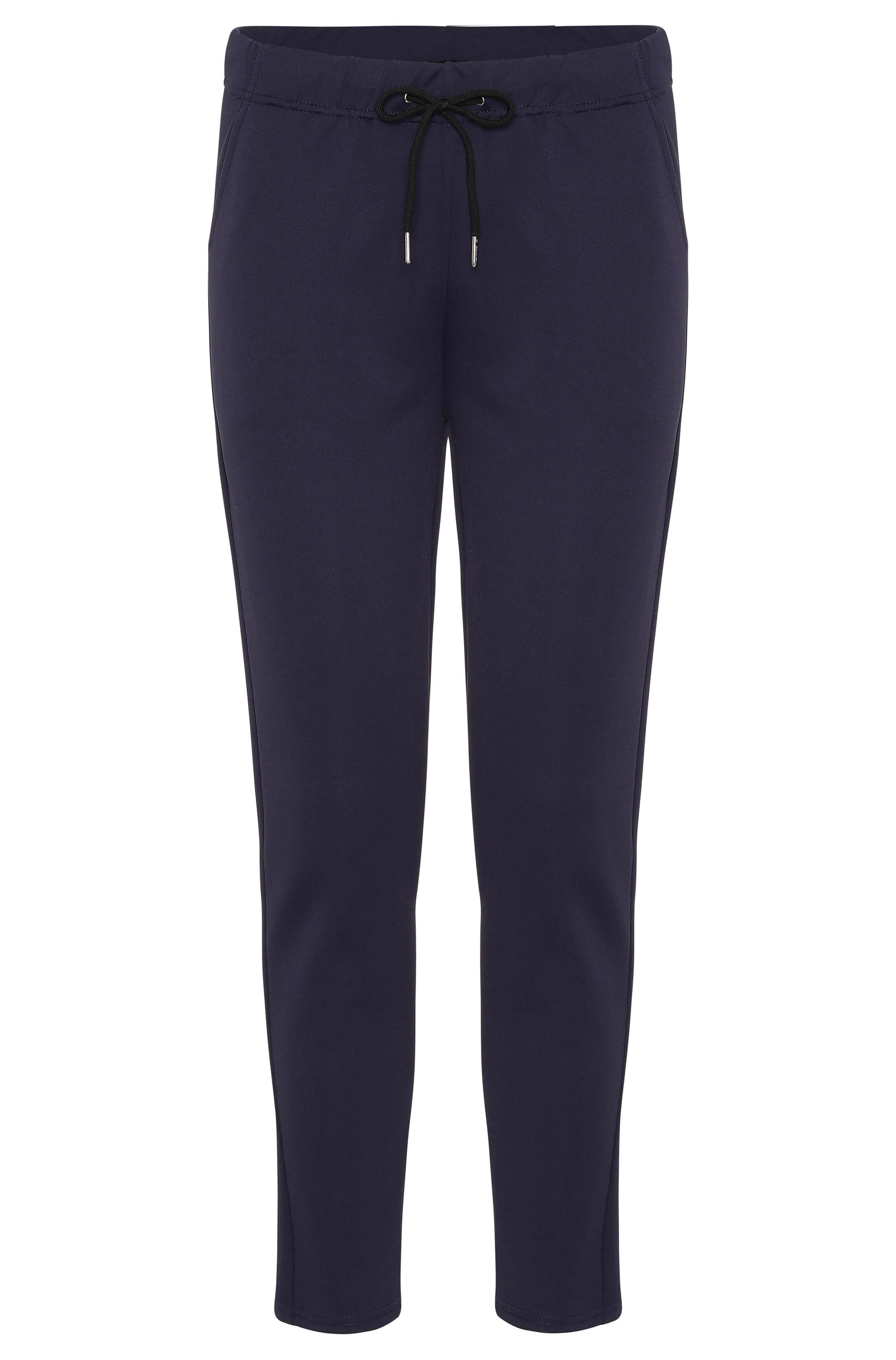 Soft blue chinos with stretch fit