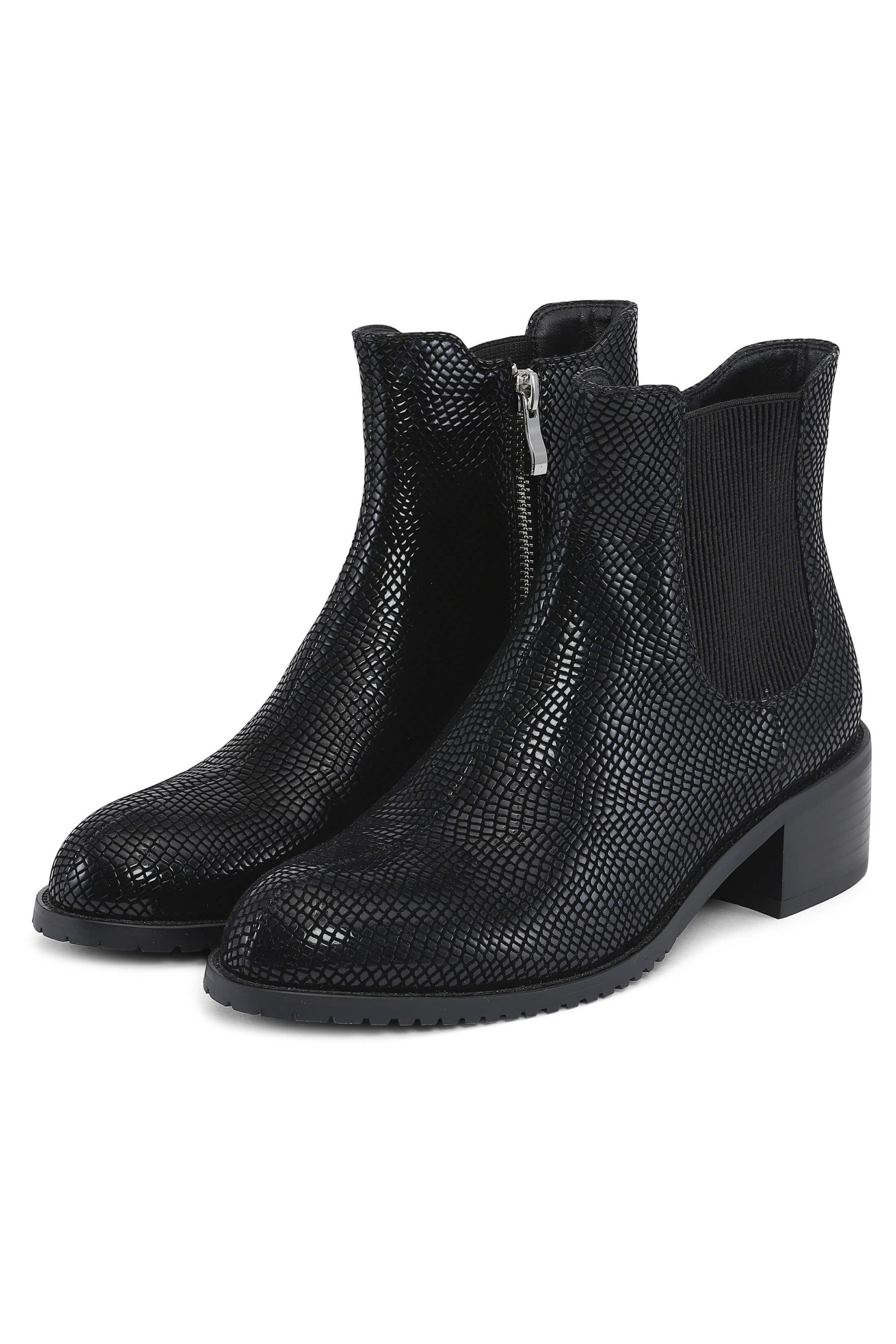 Structured beautiful ankleboots