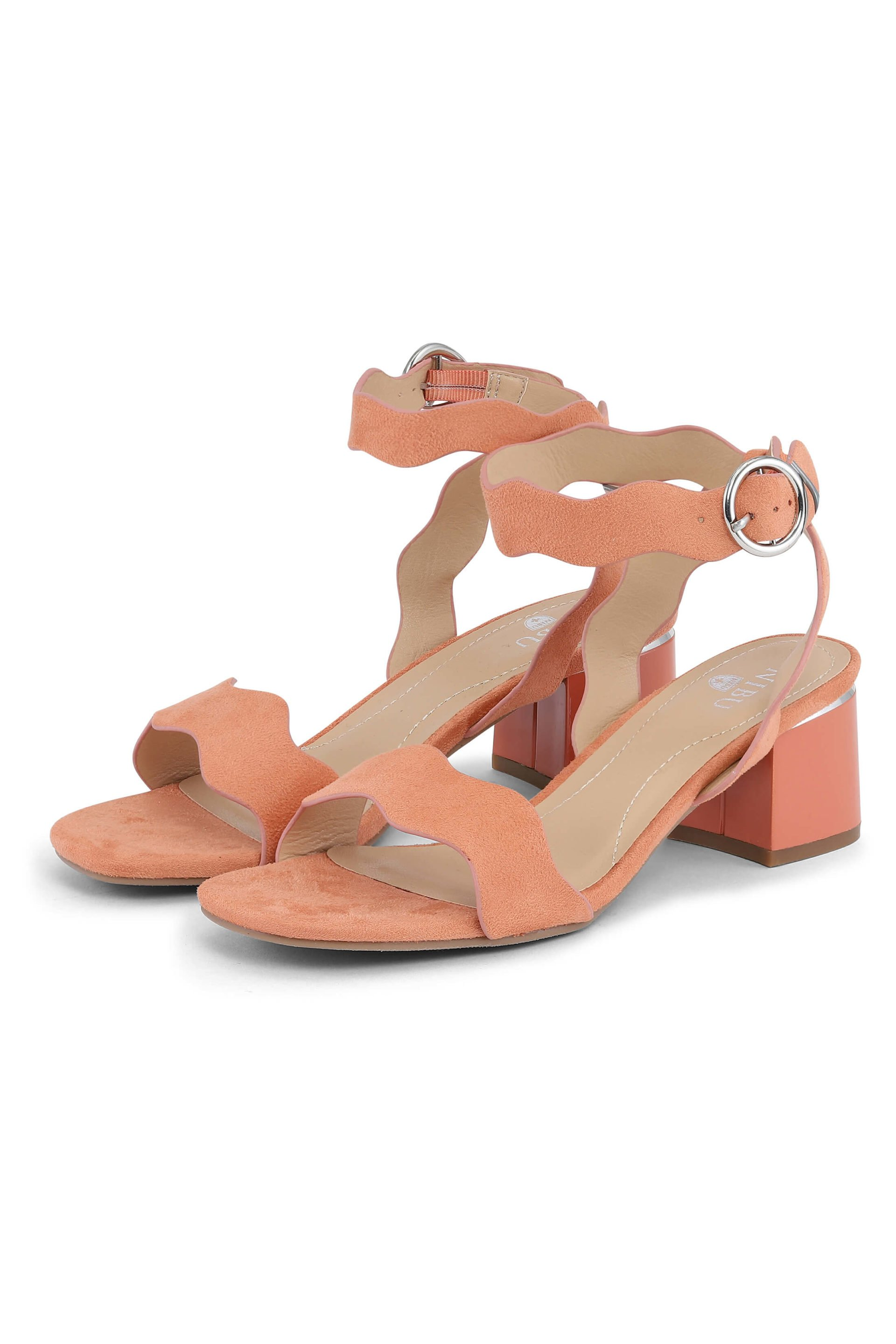 Gold-earth color sandals