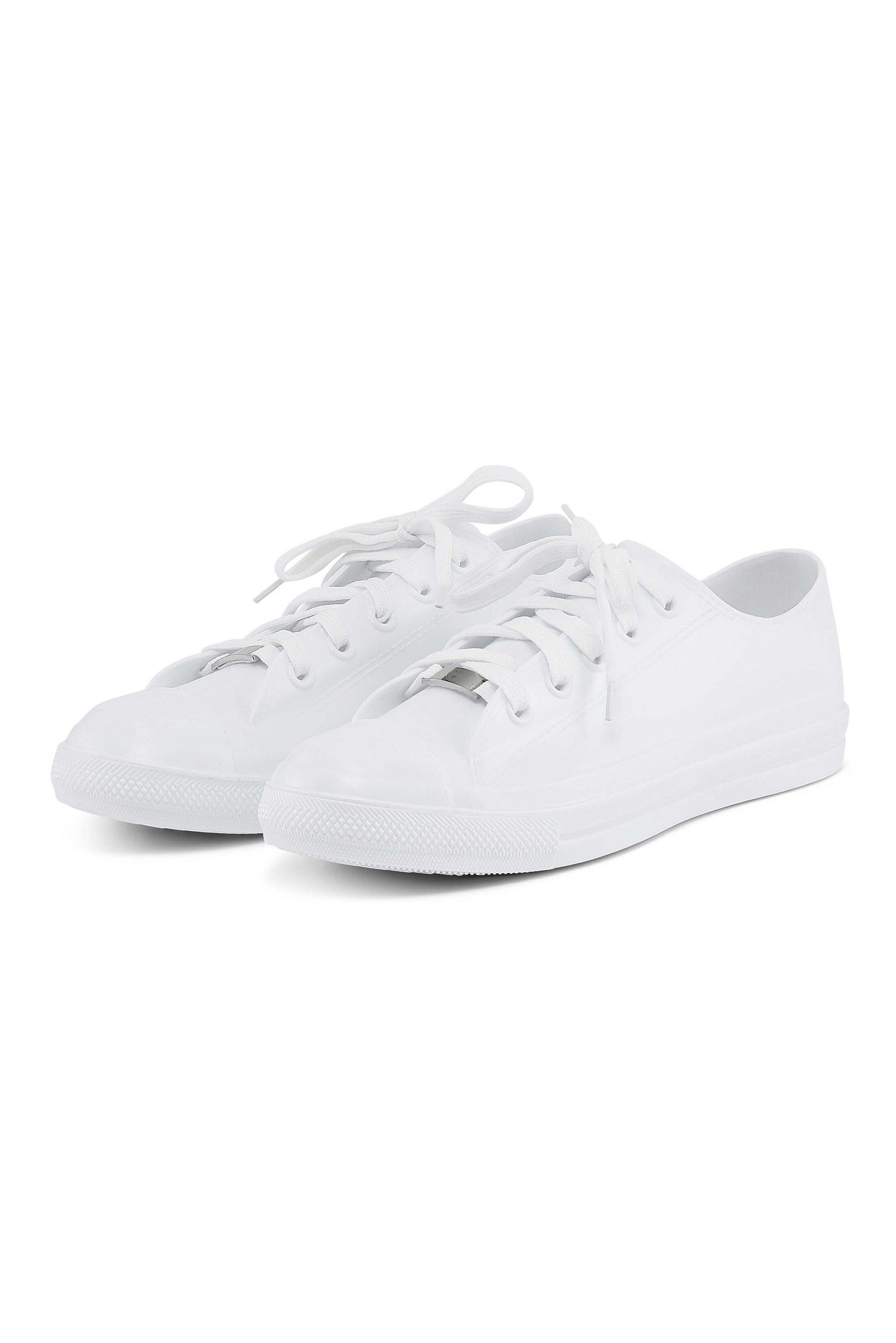 White water-resistant sneakers