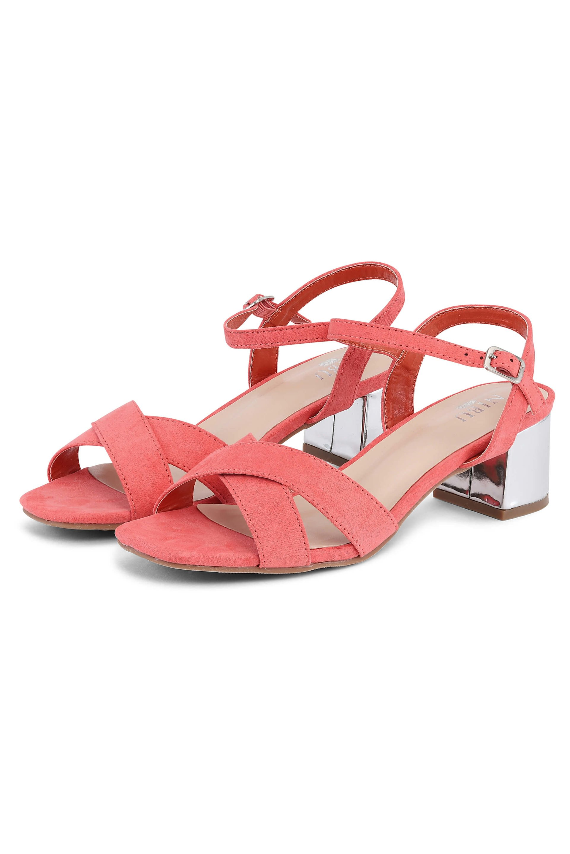 Earth-colored sandals