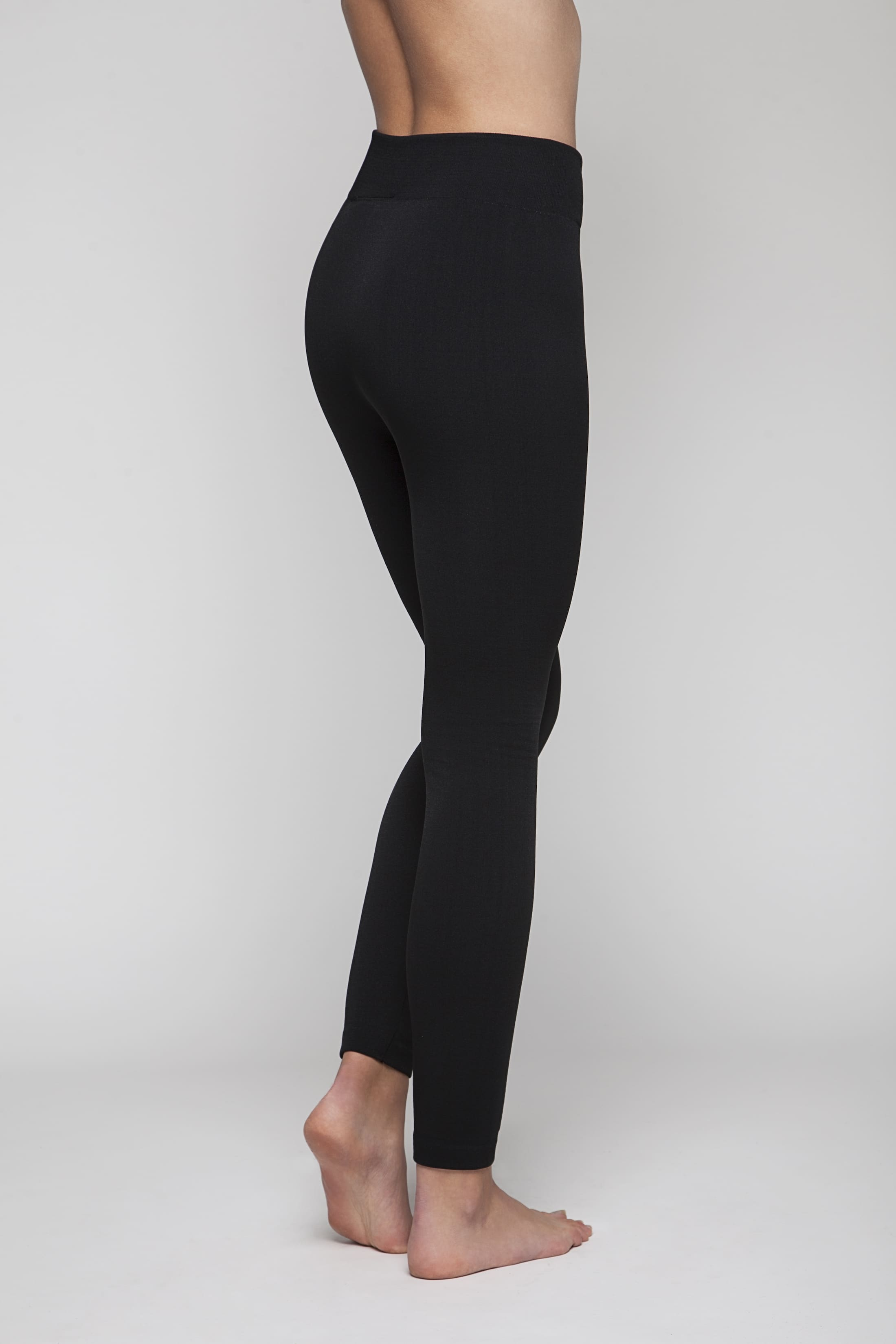Black super-soft comfortable leggings