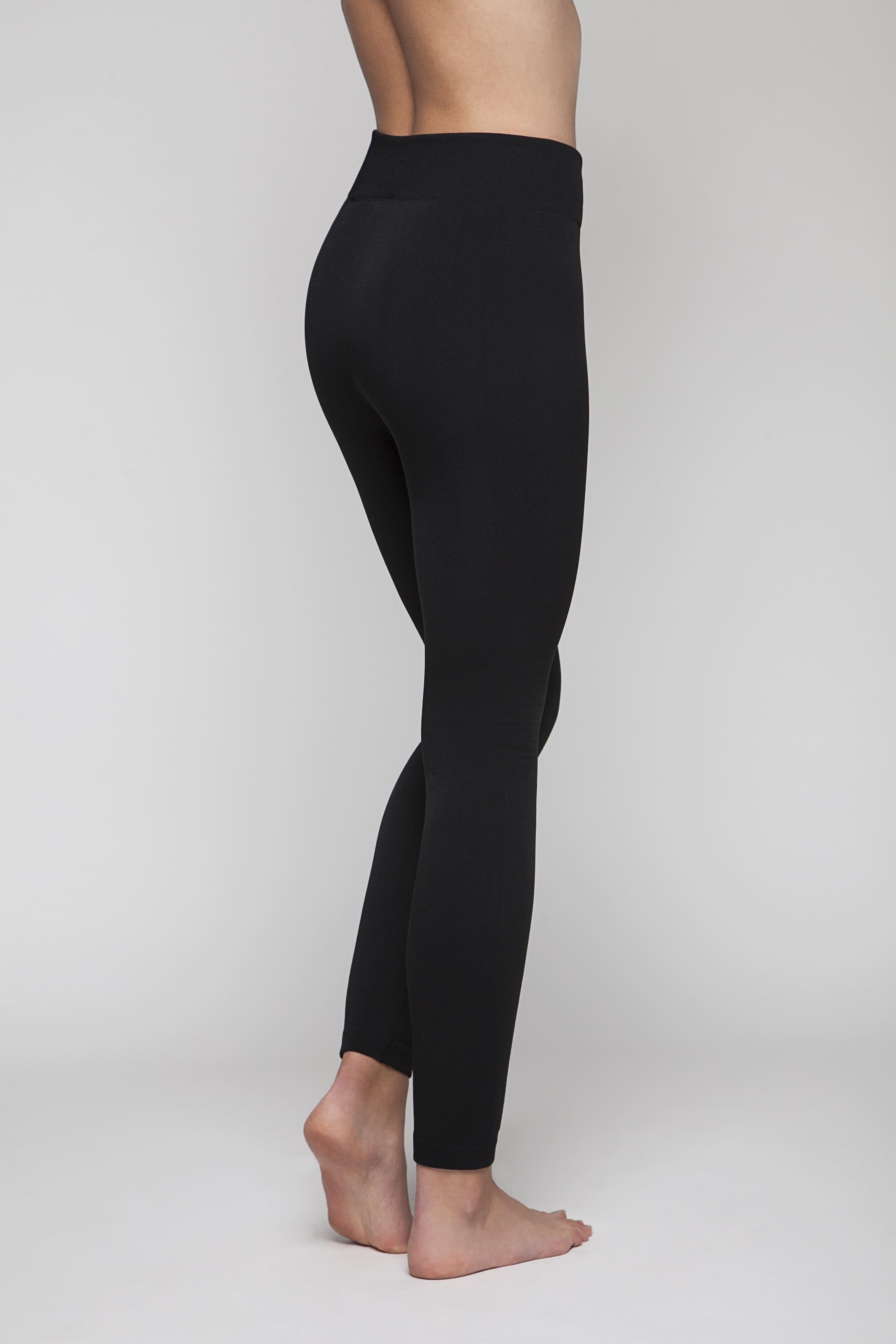 Black super-soft comfortable leggings