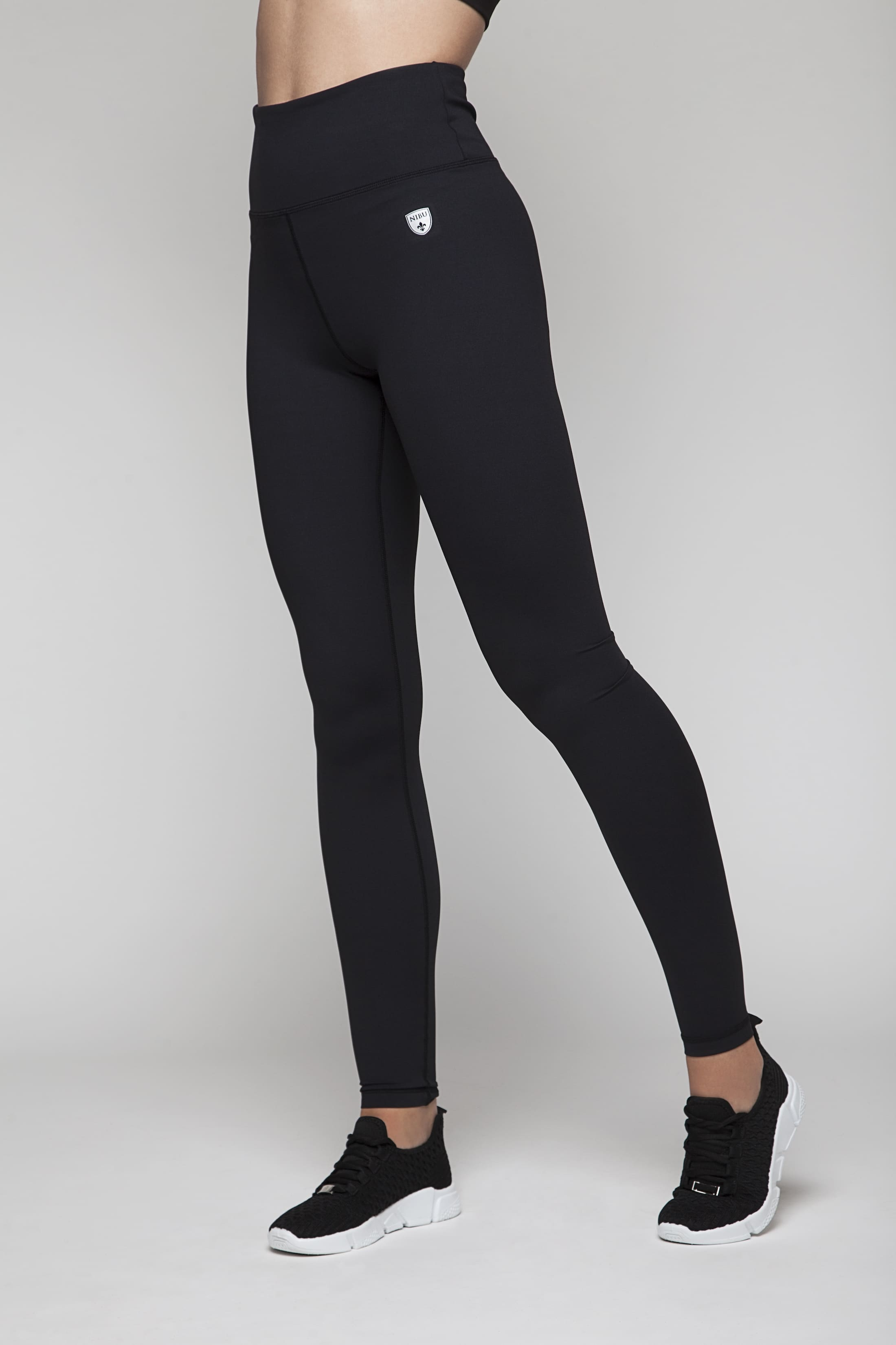 Soft tights with high waist (squat safe)