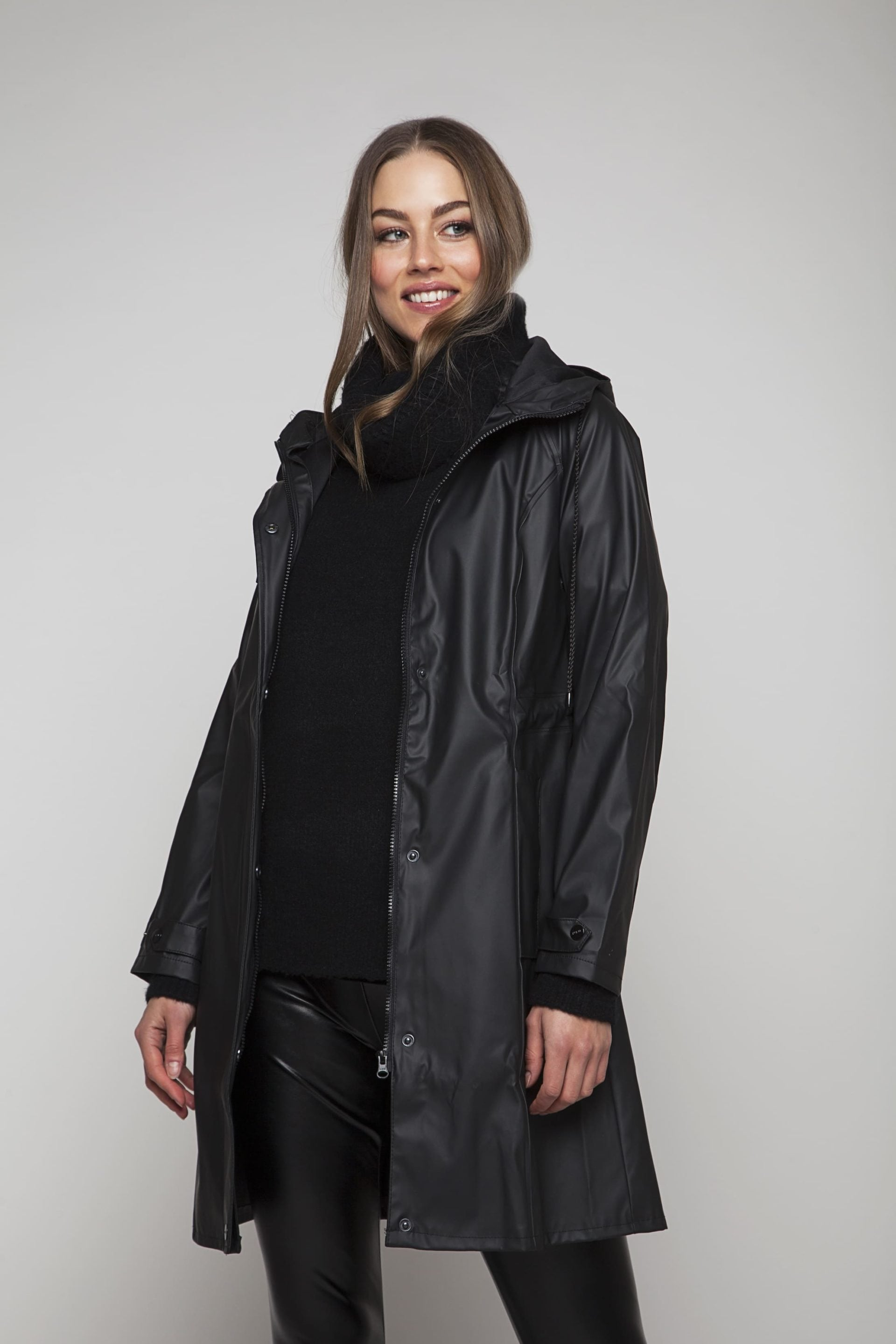 Feminine rainjacket