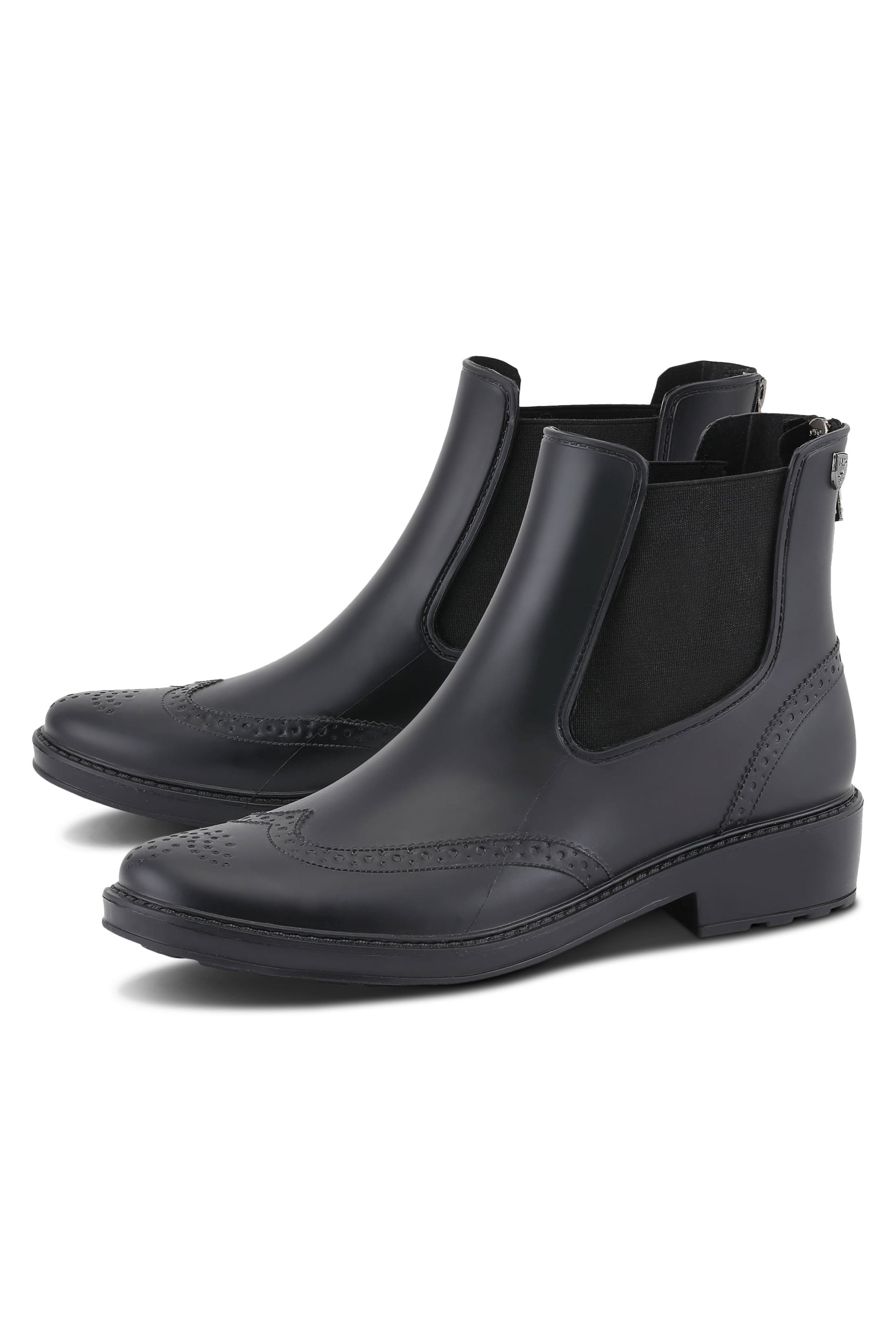 Chelsea rainboots in matte black