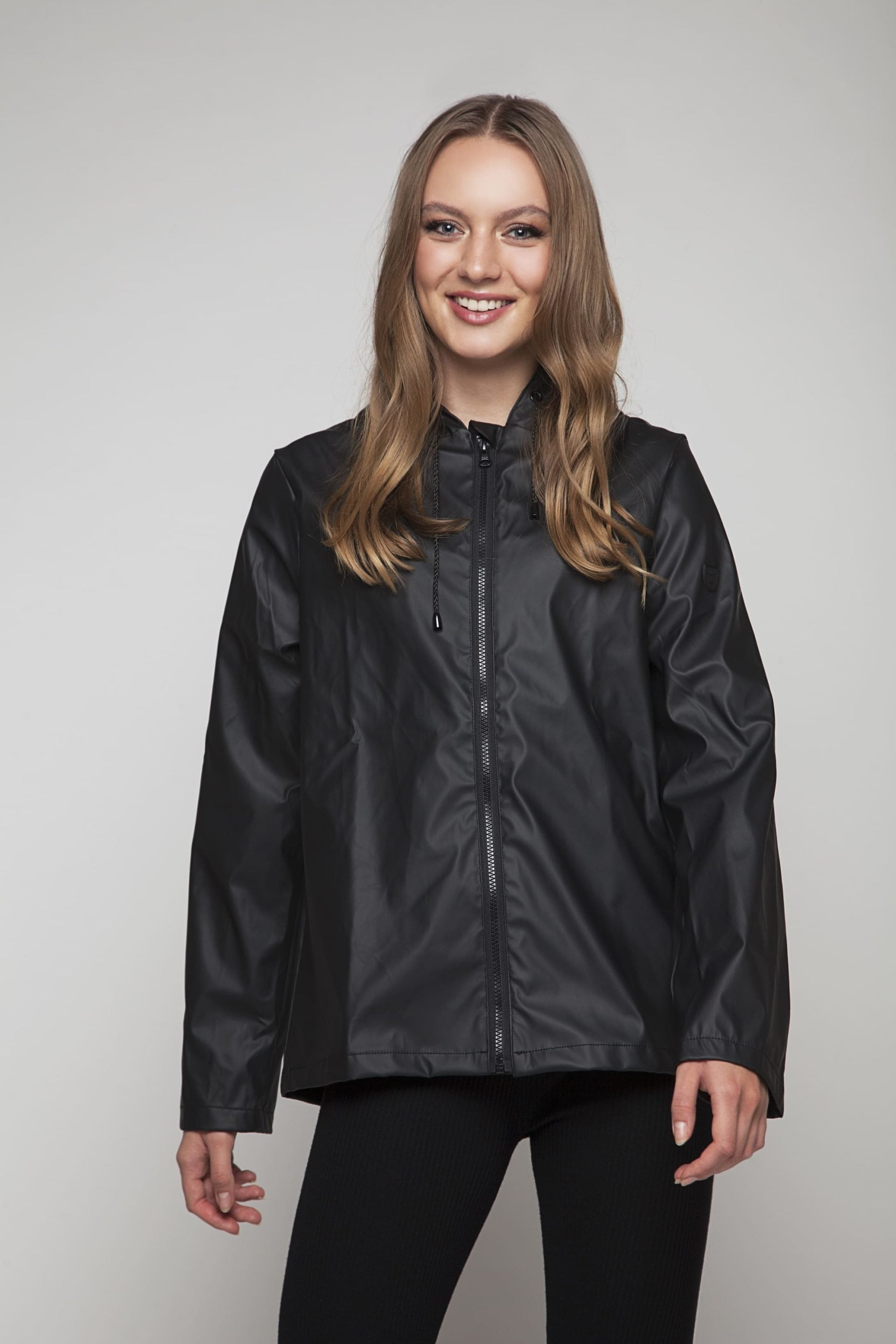 Short rainjacket